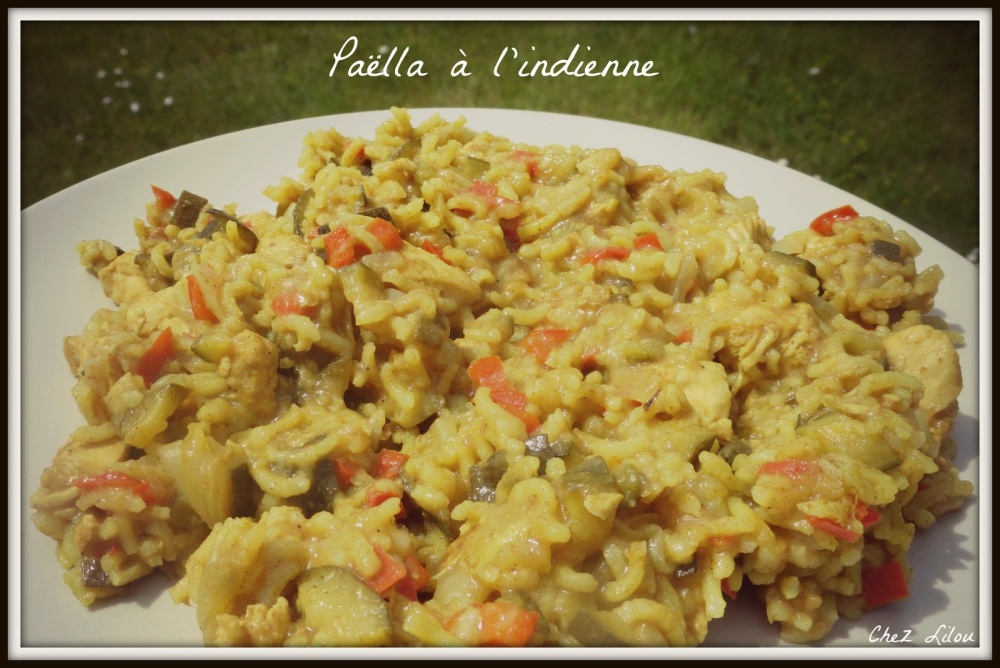 paella-indienne