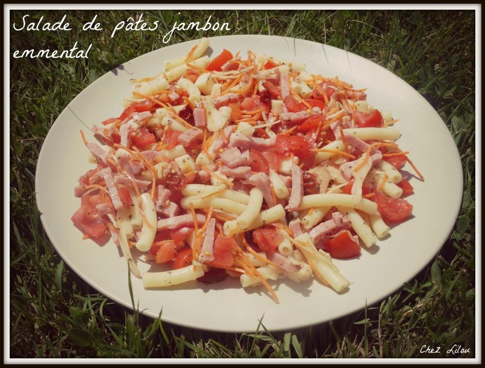 salade-pates-jambon-emmental