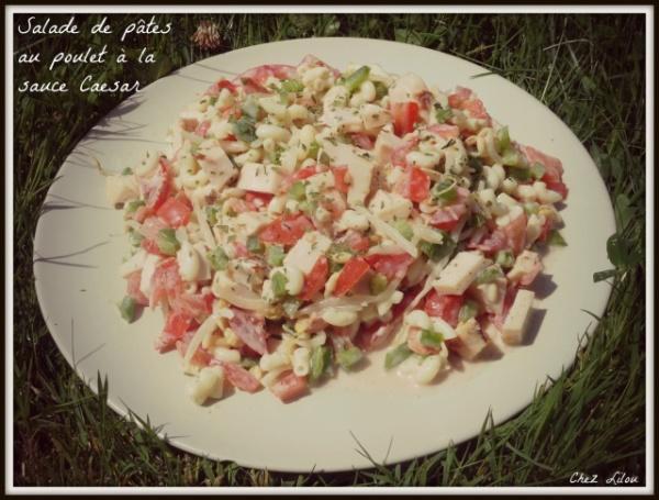 salade-pates-poulet-cesar